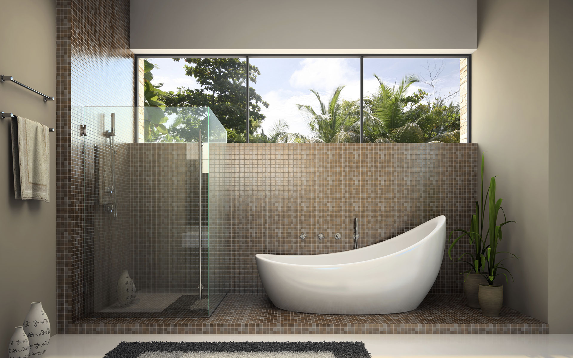 Shower Screens, Mirrors and Robes